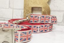 Hand Made Dog Collars and Leads | Designer dog accessories / Handmade in the UK