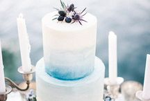 icy blue winter styled shoot