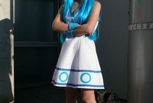 Squid Girl Cosplay