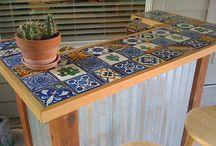 * outdoor countertop