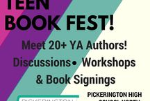 Pickerington Teen Book Fest 2016 / Our third annual celebration of teen fiction, literacy, and community will be held on Saturday, June 11, from 10 a.m.-5 p.m. - and we can't wait to see you there!