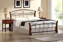 Łóżka do sypialni / Urządzając sypialnię powinniśmy zwrócić szczególną uwagę na łóżko, to ono będzie centralnym punktem w sypialni oraz stanowi najważniejszy element dekoracyjny.