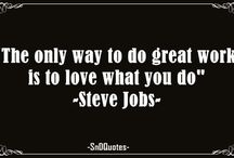 Steve Jobs Quotes / These inspirational Steve Jobs quotes will help you work better and smarter.