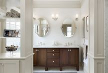 Bathrooms / Award winning bathroom renovations from the design/build team at Feinmann, Inc. http://www.feinmann.com/gallery/spaces-bath/ / by Feinmann Design|Build