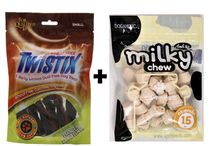 Buy Dental Chew Vanilla Mint Flavor Large & Milky Chews Knotted Bone Chicken Dog Treat / #4petneeds_Plan_is_on_when_it's 35% OFF! Offer valid on 48 Hours or more #Dental_Chew_Vanilla_Mint_Flavor_Large & Milky Chews Knotted Bone Chicken Dog Treat in #4petneeds .Com for Online Delivery. Call@ 9953065516 Order@ https://www.4petneeds.com/url/agz5