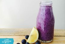 FODMAP Smoothies / Smoothies and Drinks which are low FODMAP but especially compatible with fructose intolerance.