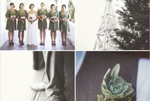WEDDING SAGE / AUTUMN HUES SAGE AND THE SOFT WINTER SUN MAKES FOR A BEAUTIFUL WEDDING GREEN THEMES / by Sian Edgson