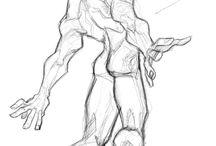 Studies - Figure/Poses