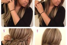 hair- and make-up styles