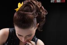 Nowoczesne upięcie włosów