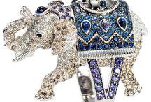 Elephants in Jewelry