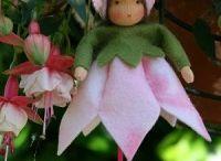 muñecas tipo waldorf