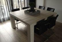 Vierkant tafels