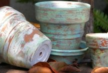 Clay Pot Projects / by Jeri Cargile