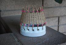 керамика и плетение