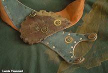 LiVe Belts / Lamia Venomari. My belts