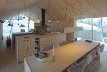 wnętrza drewniane
