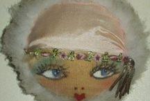 Flapper dolls