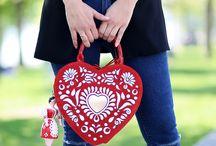 The Mileva collection handbag