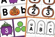 Unit Ideas: Halloween