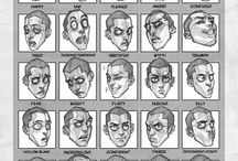 Drawing - Facial Expressions
