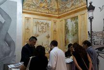 "Interior design & furniture / ""Affreschi&Affreschi"" stand at HOMI Milano - International Exhibition for furniture and interior design (September 2015 edition)."