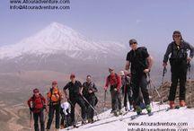 Mt Damavand Skiing Tour 2017 / 0