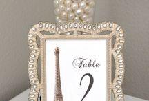 wedding paris theme