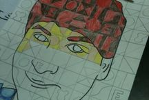 Artist Chuck Close in Elementary Art / by Artist Parson