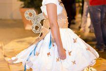 """Pane&Moda by Clo'eT / Abito: """"La principessina di Clo'eT"""" by Clo'eT creato appositamente per la piccola Aurora in occasione della sfilata Pane&Moda presso il Panificio Rota Biasetti.  Abiti realizzati con i sacchi delle farine."""