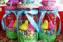 Easter bunnies~spring time stuffs / by Jen Saksun