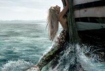 Mermaids  / by Brittanny Hancock