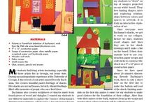 ArtEd: Architecture / Grades K-6th Learn about Architecture and how it relates to the basic Principle /Elements of Design