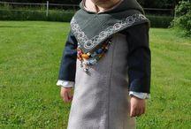 Modern viking child
