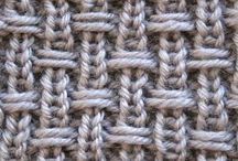 Arran cable blanket