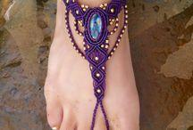 macramé - šperky