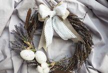 Easter wreath/ Пасхальные венки
