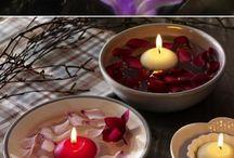 Decoração - velas