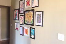 Ways to Display Kids Art