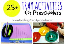 Tray activities 2-3 year olds