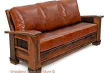 Rustic Upholstered Furniture / by Woodland Creek Furniture