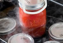 *canning, homesteading