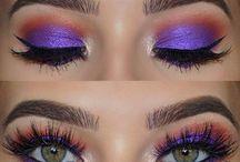 Ögon lila/rosa