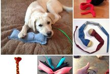 Homemade dog toys
