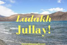 """Ladakh - Jullay! / My most memorable time visiting Ladakh, the """"Little Tibet"""" of north-eastern side of Jammu and Kashmir state in India. Visited monasteries, saw spectacular vistas and enjoyed Pangong Lake."""