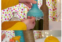 DIY Yarn Bottles Pictures, Photos, and Images ....