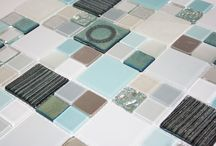 Susan Jablon Tile Design's   Up Close and Personal / Glass Tile is one of the hardest things to take accurate photos of. We are now starting this ideabook to show our glass tiles from various angles as they are made in the work room for orders. We will be saving the tile name, the tile code, and the price under these photos. Please message us if you have any questions or if you like any tiles. bsheppard@susanjablon.com