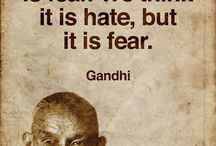 Mahatma GHANDI / What a profoundly wonderful man