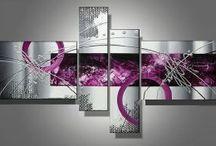 Collection de tableaux design 201 / Nouvelle collection de tableaux abstraits design EVA JEKINS.