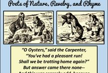 Second Grade Poetry Curriculum / Eat oysters with the walrus and the carpenter, learn about goblins from Little Orphant Annie, visit old Peter Prairie-Dog in Prairie-Dog Town, and maroon yourself with pirates on Dead Man's Chest Island. https://underthehome.org